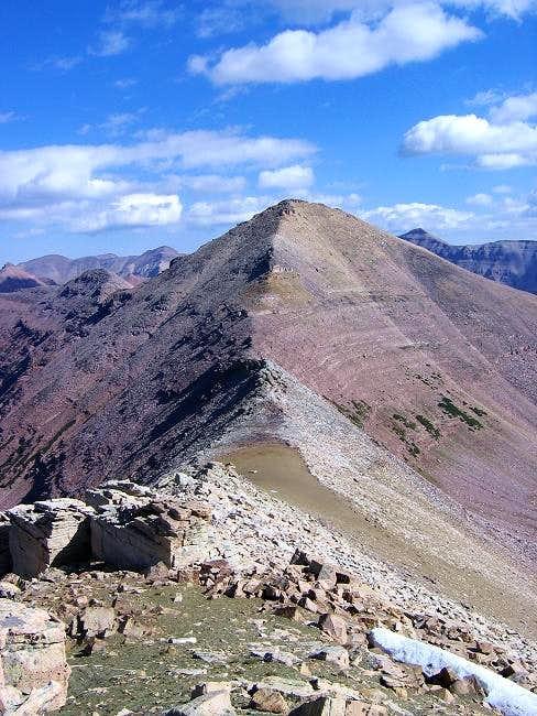 Approaching Explorer Peak...