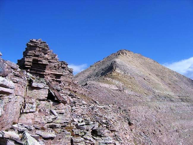 Explorer Peak seen from the...