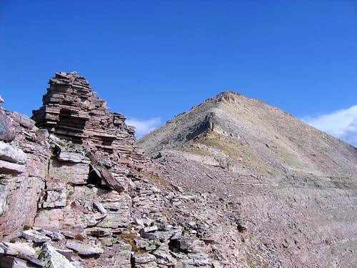 Explorer Peak seen from the...
