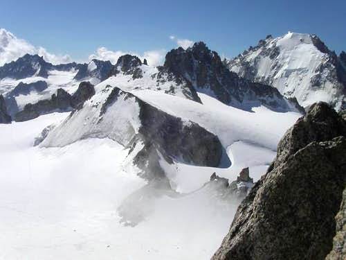 North Face of Tete Blanche...