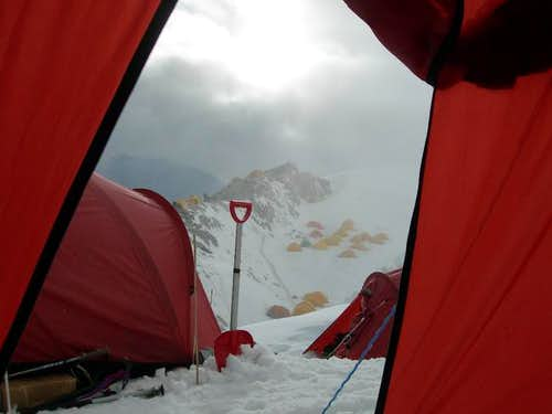 Zeddy view from Camp - 1 Tent