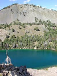 Baker Lake seen from the east...