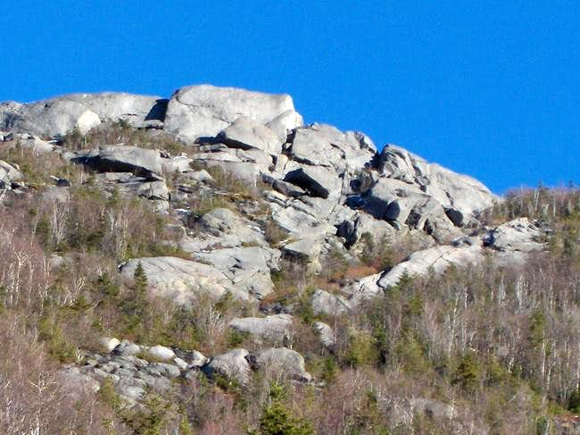 summit ridge of east dix from...