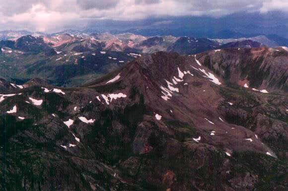 View from Handies summit...