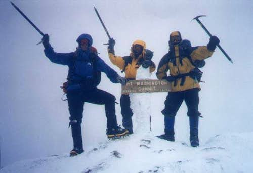 March, 2001 - Summit of Mt....