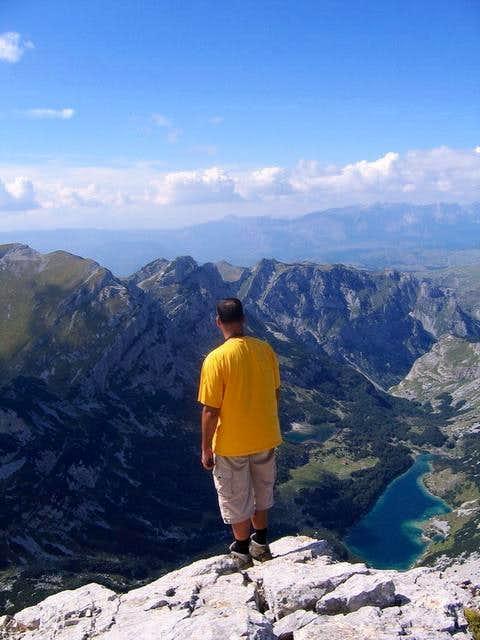 Bobotov Kuk summit view