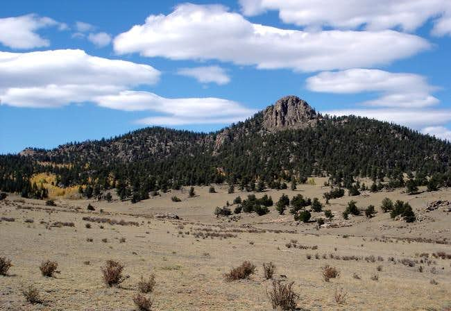 Observatory Peak from the...