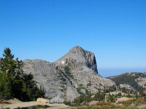 Volunteer Peak from Benson...