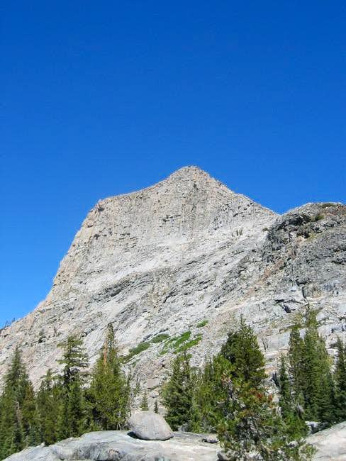 Volunteer Peak from the trail...