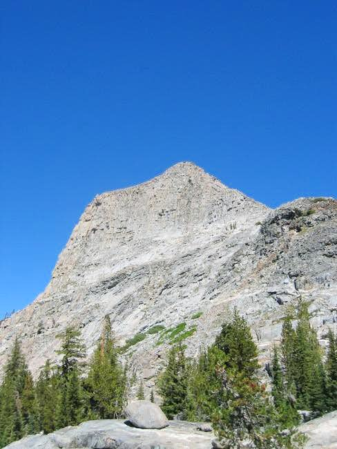 Volunteer Peak from the trail...