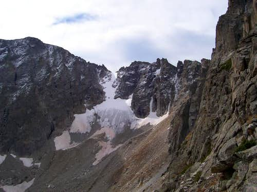 Apache Peak (left) and Fair...