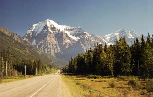 Mount Robson West face, from...