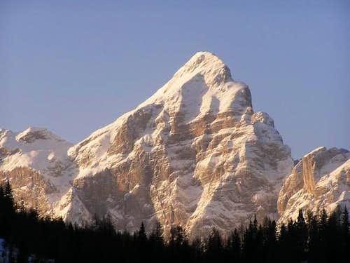 Monte Civetta from NE (Dec 8,...