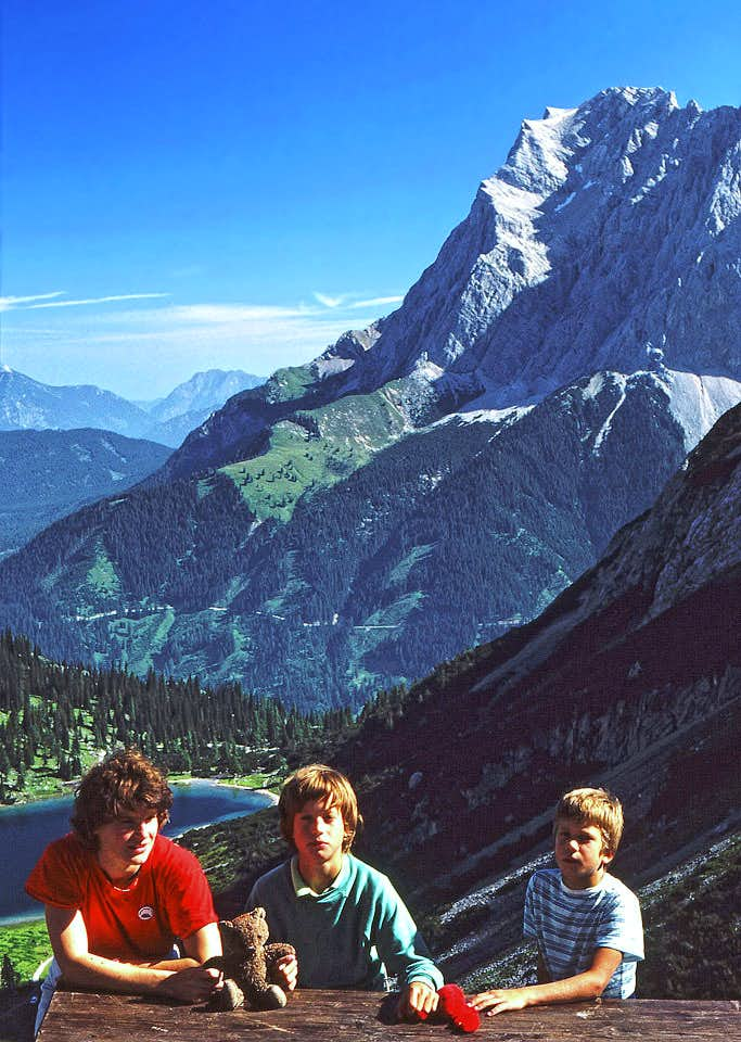 Zugspitze from south (from...