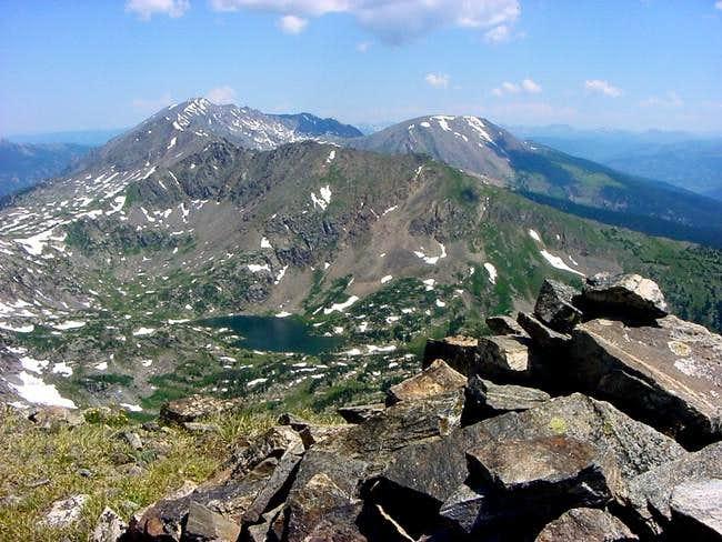 Looking over the Savage Peak...