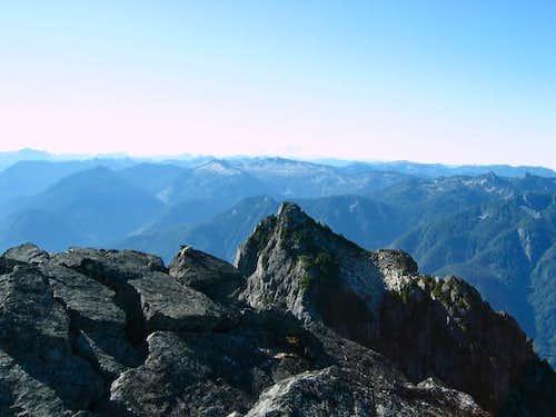 South Peak of Mount Baring...