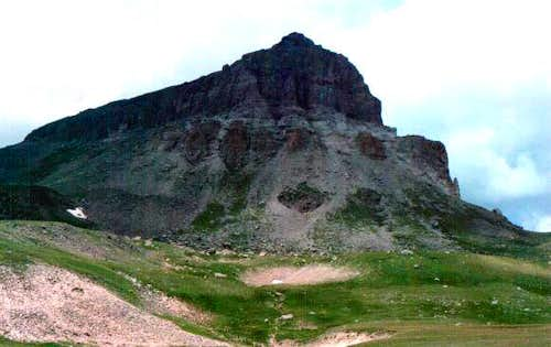 Uncompahgre Peak 7/25/01
