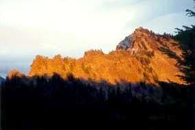 Garfield Peak in summer.
