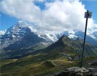 Eiger Nordwand from...