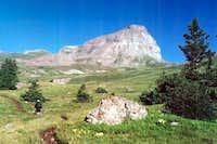 Uncompahgre Peak trail 7/25/01