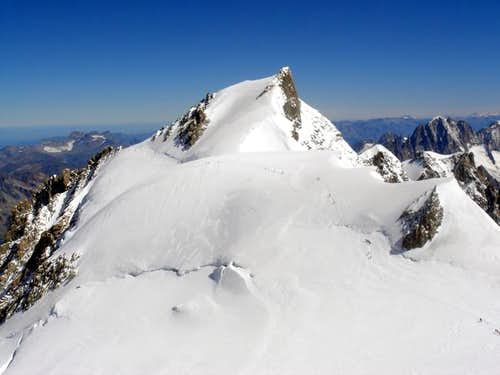 Mont Maudit 4465 viewed from...