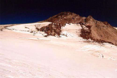 The summit of Glacier Peak...