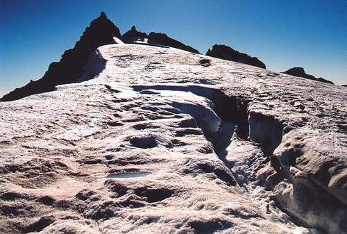 Kololo\'s summit crags from...