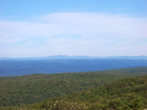 The Catskill Mountains from...