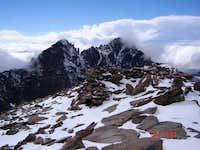 The summit of Humboldt Peak,...
