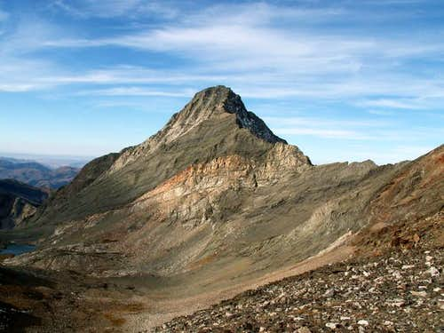 Cobb Peak from the lower...