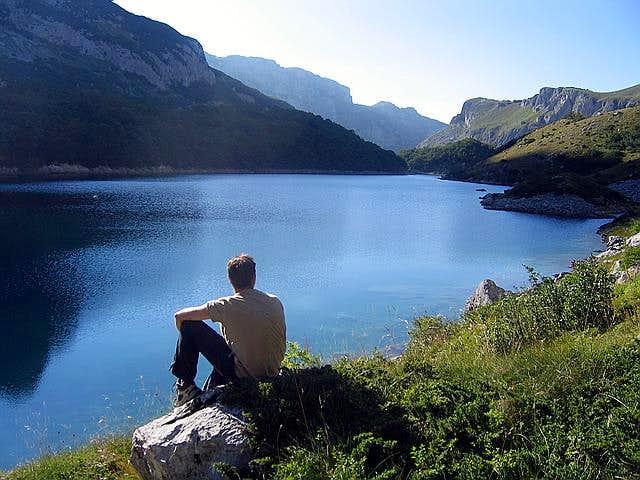 Enjoyment near Skrka Lake