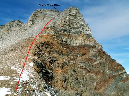 The Black Rock Dike Route...