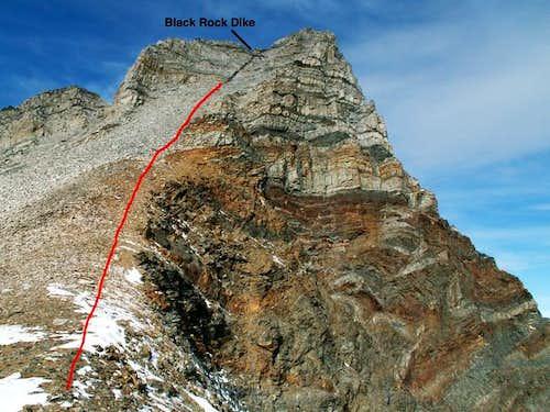 The Black Rock Dike Route...