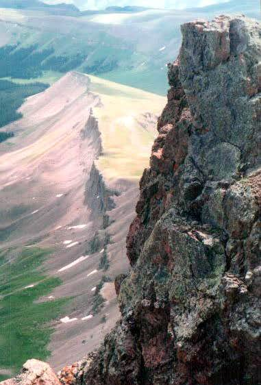 View from Uncompahgre Peak...