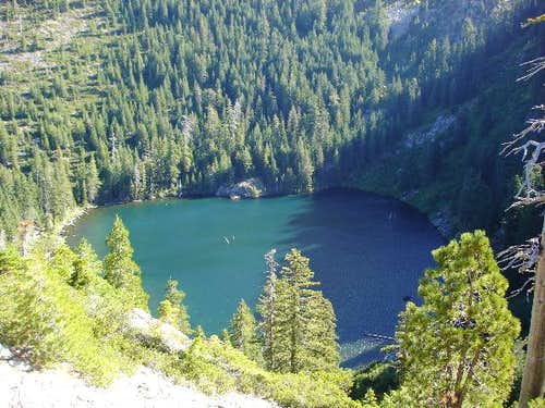 Raspberry Lake from the...