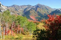 Gorgeous fall view of Provo...