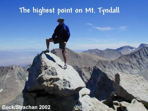 On top of Mt. Tyndall, my...