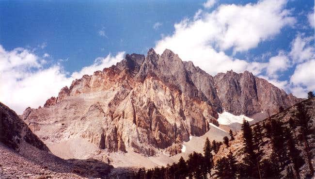 Split Mountain, August 2002.