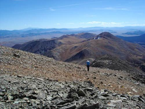 Bald Mountain and Black Powder Pass