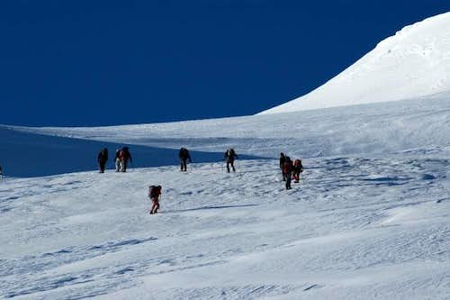 Bishorn north slope ascent....
