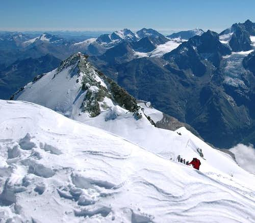 Bishorn east summit and the...