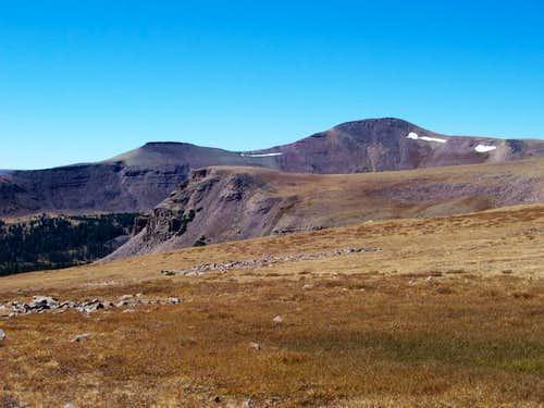View of Lakeshore Peak