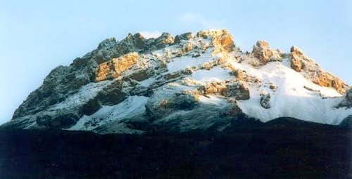 Mawenzi (5179 m) seen from...