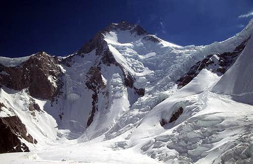 The broken glaciers on and...