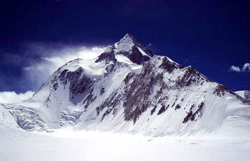 The huge bulk of earth's...
