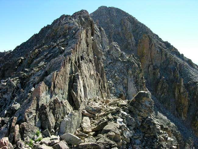 The west ridge of UN13,336...