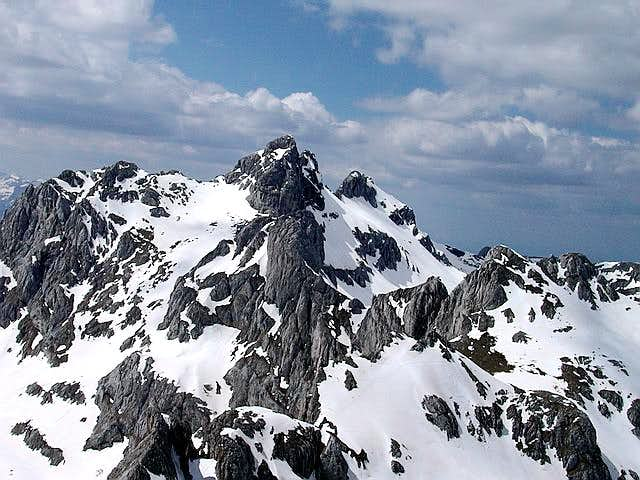 Amazing W Bandijerna (2409 m)...