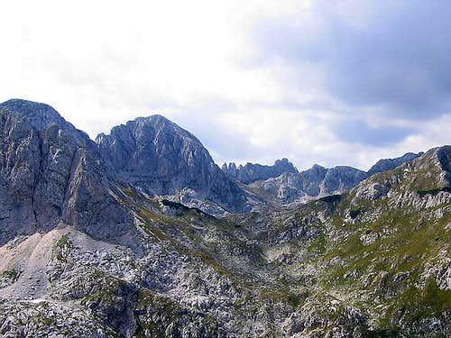 Bandijerna (2409 m) , Sljeme...