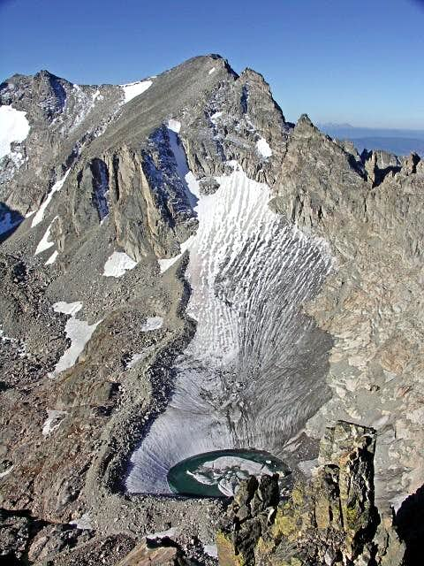 Apache Peak from Shoshoni Peak
