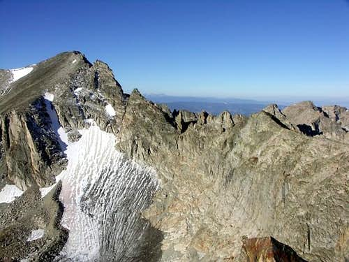The North Ridge of Apache Peak